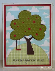 Just Because Cards Cricut cartridge by Katie at Crafting with Katie.