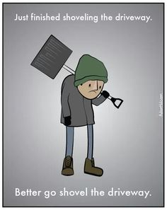 the shoveling // funny pictures - funny photos - funny images - funny pics - funny quotes - Funny Photos, Funny Images, Bing Images, The Meta Picture, Story Of My Life, My Guy, Just For Laughs, Funny Comics, That Way