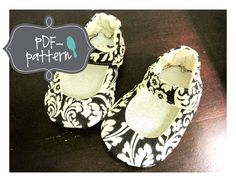 Mary Jane Shoe PDF Sewing Pattern by twirlybirdpatterns on Etsy, $6.00
