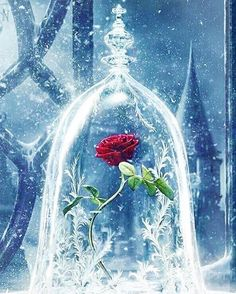 Beauty And The Beast Castle Icy Bell Rose Snowflake #iPhone #4s ...