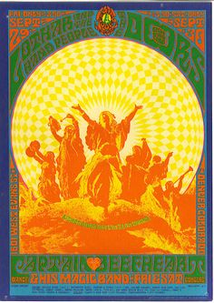 20 Classic Vintage Psychedelic Rock Posters from the Rock Posters, Hippie Posters, Band Posters, Movie Posters, Psychedelic Rock, Psychedelic Experience, Psychedelic Posters, Vintage Rock, Vintage Music