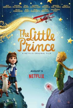 The Little Prince on Netflix and a Printable Postcard, Too #StreamTeam