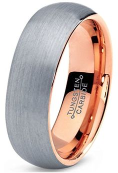 """Search Results for """"tungsten wedding ring with 18K rose gold"""" – Marketplace Jewelers"""