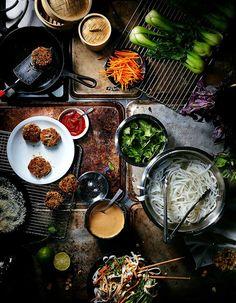 Overhead Shot Food Photography