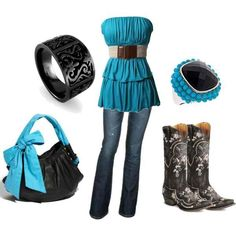 Country girl sas!---- I really want the purse...