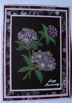 Black Magic by quarteronly - Cards and Paper Crafts at Splitcoaststampers