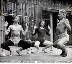 Joseph Pilates body conditioning