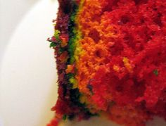Torta Arcoiris (Rainbow Cake)