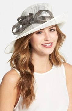 Nordstrom Sinamay Hat available at #Nordstrom