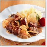 Recipe of : Braised Elk with Red Onion and Apples
