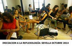 REFLEXOLOGÍA EN SEVILLA: Finalizamos el ciclo formativo Iniciación a la Reflexología | Escuela Internacional Naturopatia M.R.A.