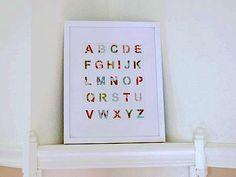 Patchwork Alphabet