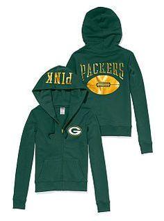 a36677dca Green Bay Packers Zip Hoodie Green Bay Packers Hoodie