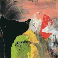 Gerhard Richter - P6 (Flow), Print