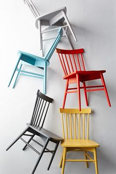 Get excited, dining room tables. Our crush, The Windsor chair, is coming for you. And just in time for holiday guests! One of each color, please. Only at Target.com.