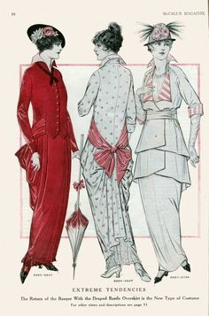 July 1914 fashion at thevintagesite.com
