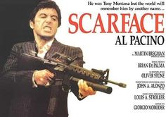 Scarface Movie Poster (#5 of 8) - IMP Awards Scarface Film, Scarface Quotes, Scarface Poster, Al Pacino, Tea Gift Baskets, Posters Amazon, Quote Collage, Oliver Stone, Fun Size