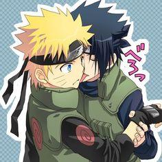 """Read SasuNaru from the story """"Naruto"""" Series' Pictures! Naruto Vs Sasuke, Naruto Uzumaki Shippuden, Anime Naruto, Kakashi Sensei, Naruto Comic, Naruto Cute, Naruto Funny, Shikamaru, Sasunaru"""