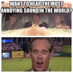 I abhor Joe Buck! I have to watch on mute when his dumb ass is on! Football Memes, Sports Memes, Football Season, Joe Buck, Cubs Win, St Louis Blues, Kansas City Royals, St Louis Cardinals, I Love To Laugh