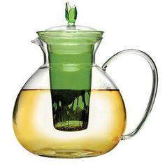 60oz Glass Teapot Infuser Grn - Epoca - PAHGN-6003DST
