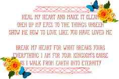 this is one of my FAVORITE songs and my favorite part from it too.  free printable!!  i'm printing it now!