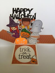 A personal favorite from my Etsy shop https://www.etsy.com/listing/552563335/halloween-pop-up-card-friendly-pop-up