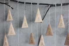 Advent Calendar - for family beeing together. Great idea!