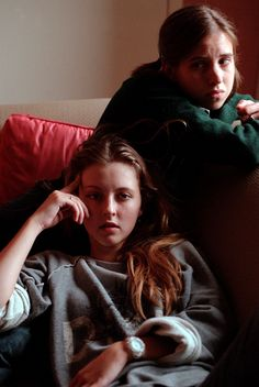 Katharine Isabelle as Ginger in Ginger Snaps with Emily Perkins Ginger Snaps Movie, Katharine Isabelle, Tv Girls, Movie Covers, Goth Aesthetic, Scream Queens, Film Books, Together Forever, Pink Sky