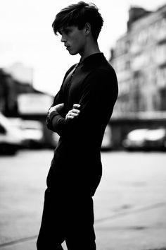 Jake Cooper   Photographed by Elliott Morgan for FIASCO [b&w male models 1000+ notes facebook twitter google+  instagram ]