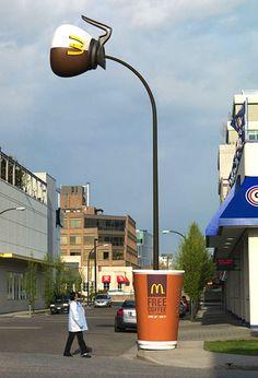 素晴らしくクリエイティブなマクドナルドの広告5選