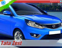#Tata Re-Enters Compact Sedan Segment With 'Zest'. The car has a fresh new aesthetic appeal with a compact yet dynamic form.
