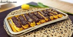 Éclairs - Deserticios Creme Caramel, Cata, Mousse, Cheesecake, Beef, Cookies, Desserts, Food, Meat