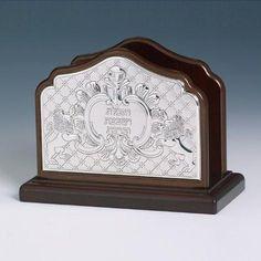 Prayer Book Silver Stand - Benchers