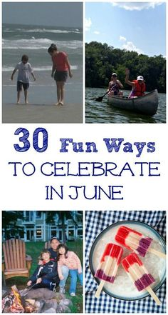 Fun activities and things to do in June with kids! Free & cheap ideas for families & summer activities -- brainstorm a Summer fun list using these ideas! Kids Learning Activities, Summer Activities For Kids, Holiday Activities, Summer Kids, Fun Learning, Family Activities, Summer 2015, Outdoor Activities, Parenting Classes