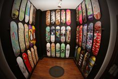 Fifty Fifty Skateboard wall