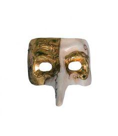 Μάσκα Paper Mache Πούλι  σε δύο χρώματα