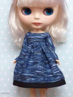 Dress for Blythe doll por Kosucas en Etsy, €6.50