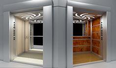 AKE Asansör Web Sitesi için hazırlanacak animasyonlarda kullanılması amaçlanarak hazırlanmış asansör kabini modellemeleri.