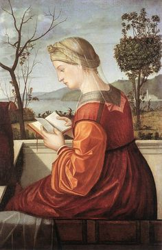 La Vergine che legge -Vittore Carpaccio, 1505-10 - National Gallery of Art, Washington