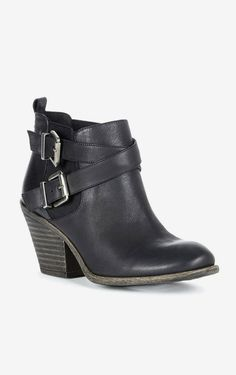 Black Leather Bootie ▶suggested by ~Sophistic Flair~