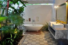 The dream bathroom *_*  #bali #villa # rental #bathroom #luxury #house #rent
