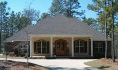 Southern Style House Plans - 2800 Square Foot Home , 1 Story, 4 Bedroom and 2 Bath, 2 Garage Stalls by Monster House Plans - Plan 50-138