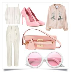"""""""Untitled #694"""" by fashionqueen556 ❤ liked on Polyvore featuring MANGO, Topshop, Chloé, Miu Miu, ZeroUV and Mark Cross"""