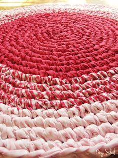 Emérita Desastre: Crochet: Alfombras de trapillo