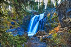 Yellowstone Fun Facts: There are over 40 major waterfalls in Yellowstone