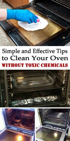 Simple and Effective Tips to Clean Your Oven Without Toxic Chemicals - Magical Cleaning ==