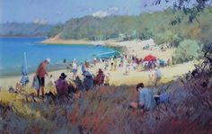 Home - Ross Paterson Watercolor Landscape, Landscape Art, Watercolor Paintings, Watercolors, Australian Painters, Australian Artists, Beach Scenes, Cool Landscapes, Studio Portraits