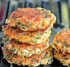 Homemade hashbrowns with veggies Carrot Recipes, Vegetable Recipes, Vegetarian Recipes, Cooking Recipes, Healthy Recipes, Cooking Pork, Rhubarb Recipes, Healthy Cooking, Good Food
