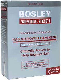 Bosley men's hair regrowth treatment 5