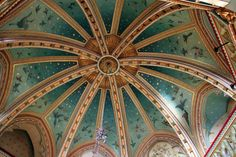 Castell Coch Ceiling